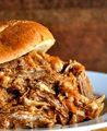 Delicious Pulled Pork sandwiches on Bad Wolf's Alabama Farm Picnic menu!